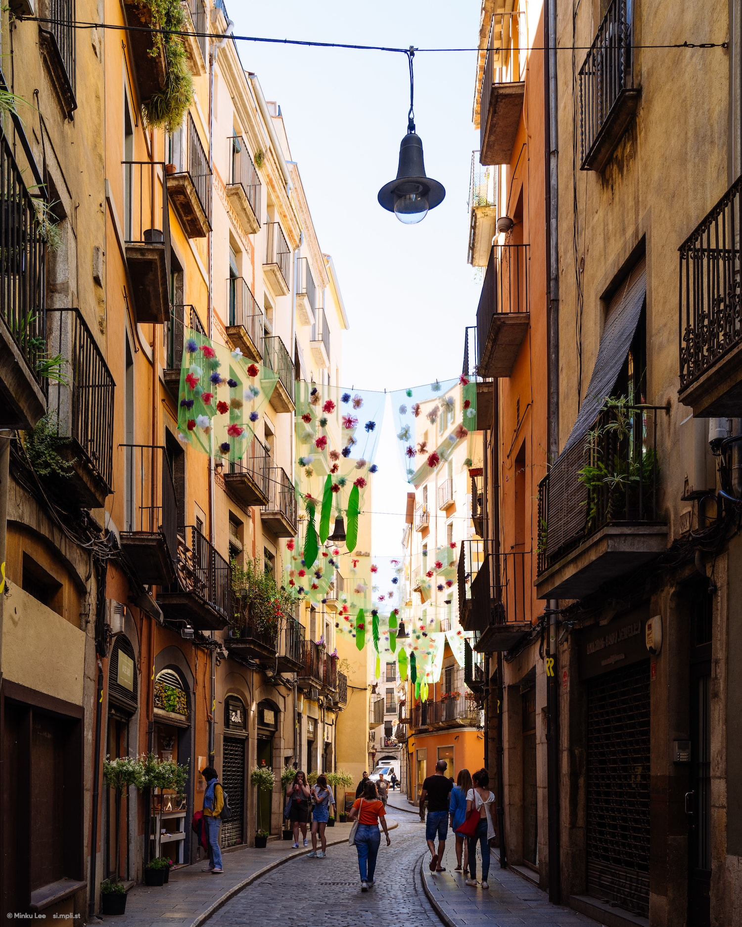 Street, Girona
